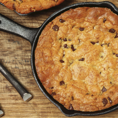 Chocolate Chip Skillet Cookie on Cake Central