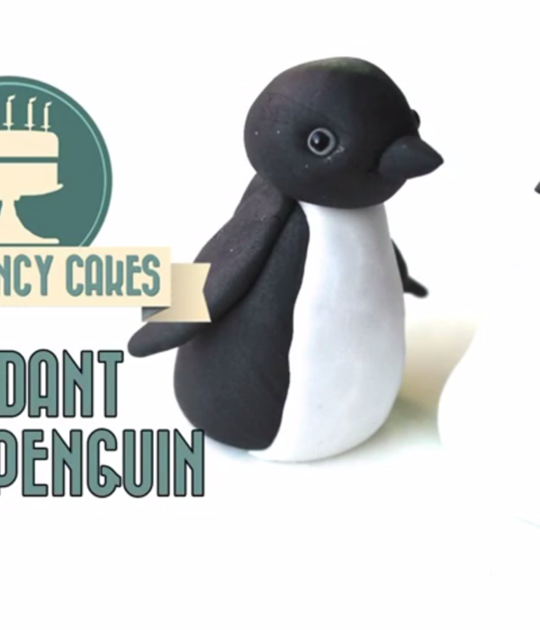 Basic Penguin Cake Topper