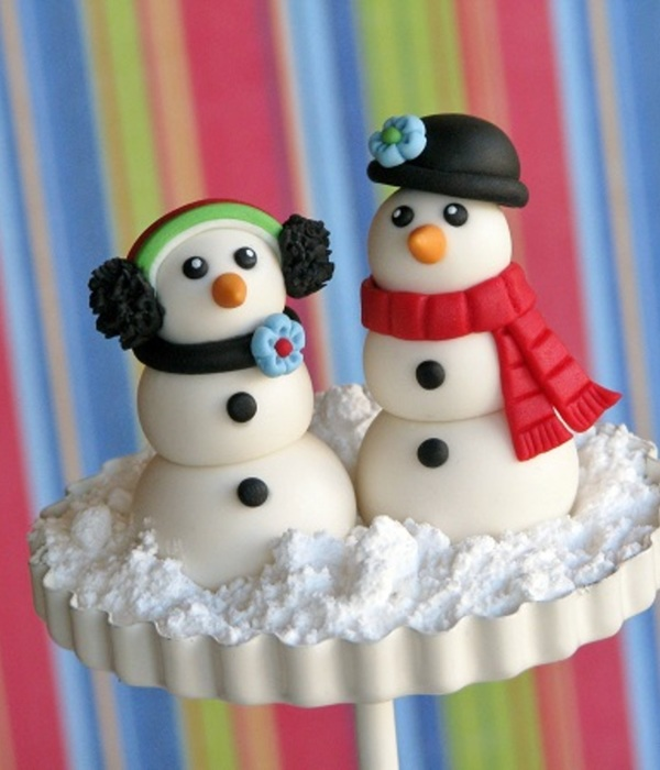 Do You Want to Build a (Fondant) Snowman?