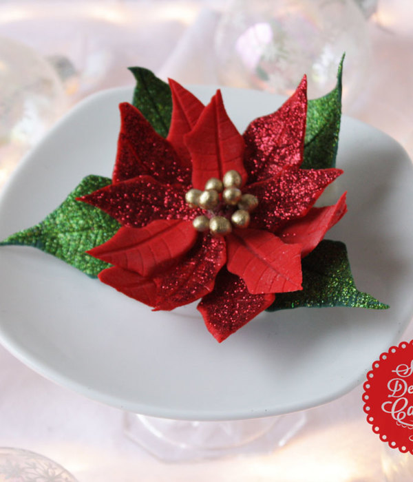 Poinsettia Flower Tutorial