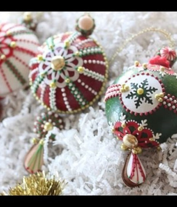 3-D Christmas Ornament Cookies