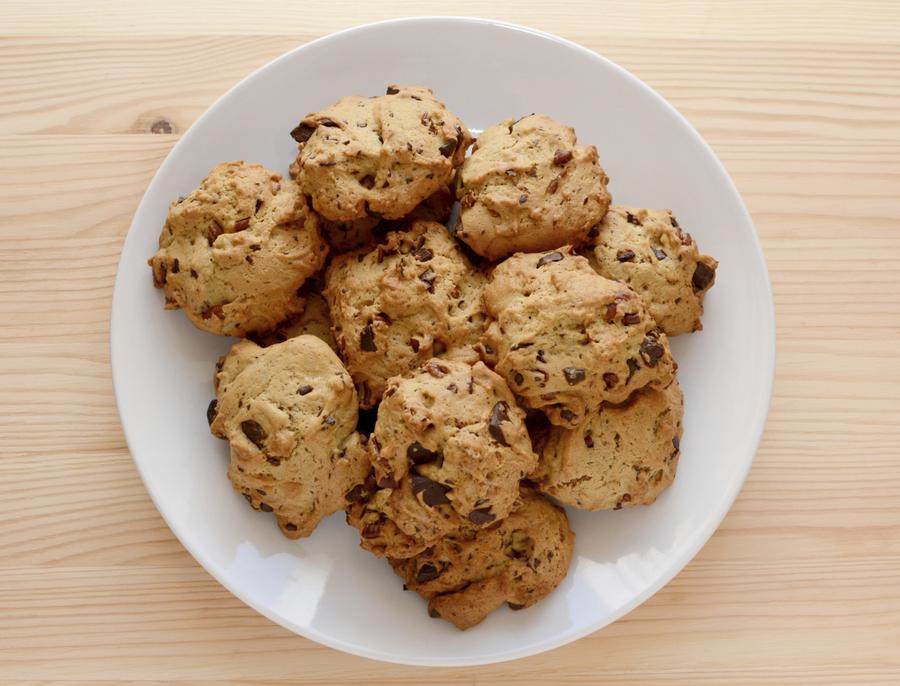 Cake Like Cookies Chocolate Chips
