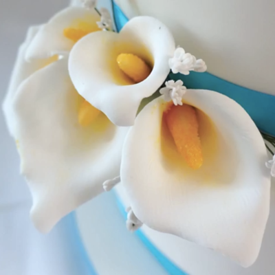 Gumpaste Calla Lily Tutorial on Cake Central