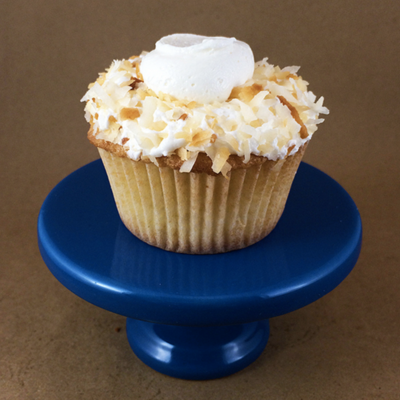 Trip to Paradise: Toasted Coconut Cupcakes With Vanilla Frosting on Cake Central