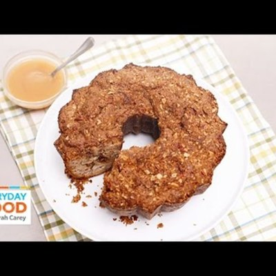 Apple-Sour Cream Coffee Cake on Cake Central