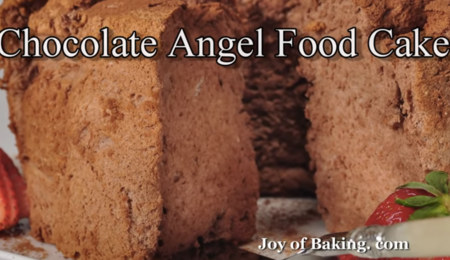 Chocolate Angel Food Cake Recipe