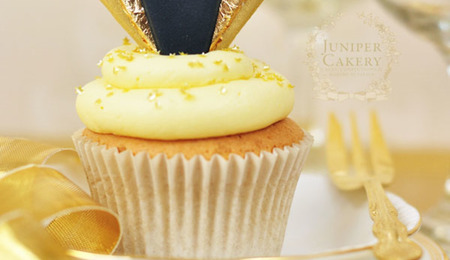 Celebrate in Style: How to Make Gold Art Deco Cupcake Toppers