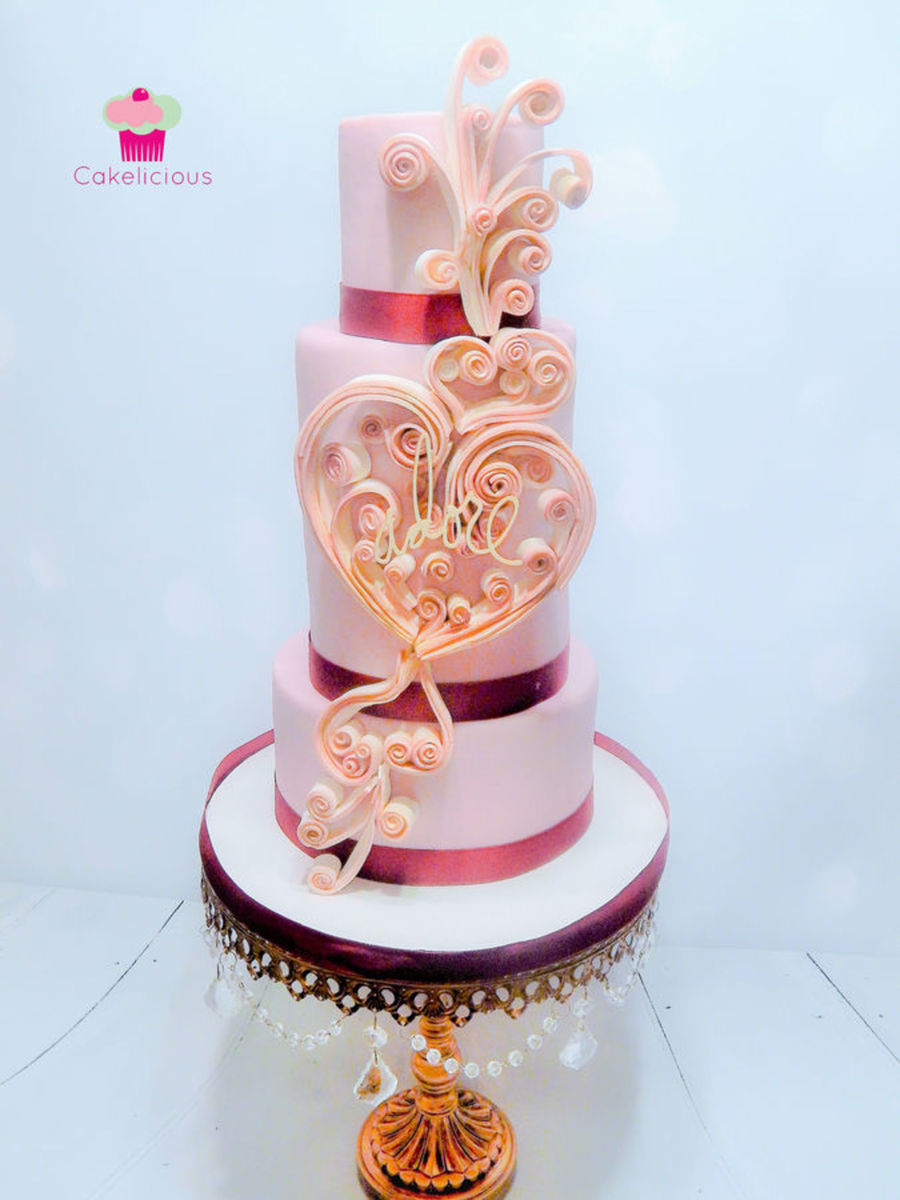 Top Heart Cakes Cakecentral Com