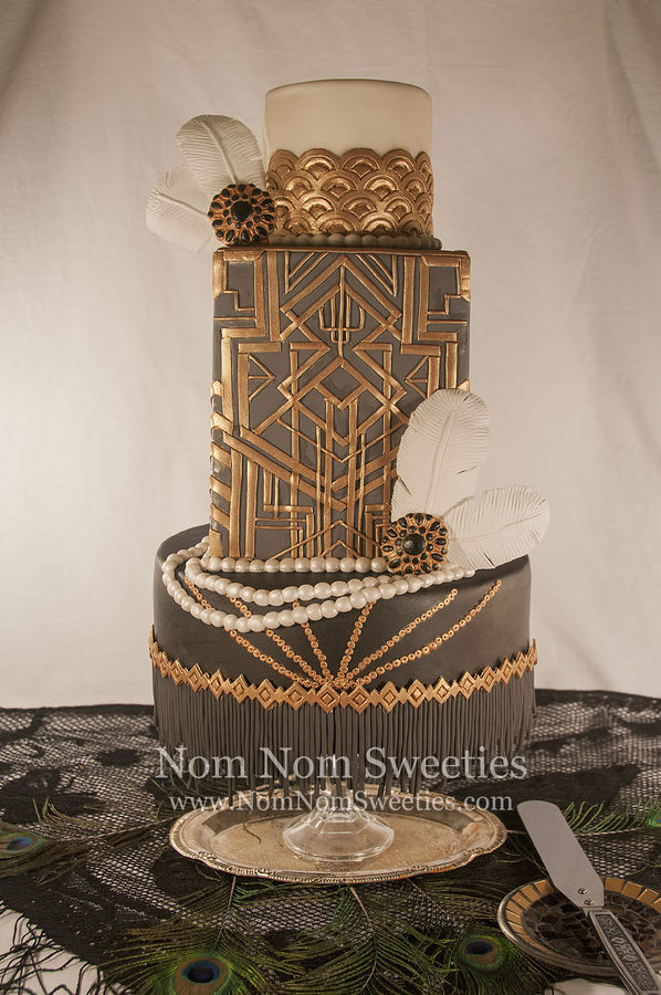 My cake for the Marvelous Molds Onlays Contest!