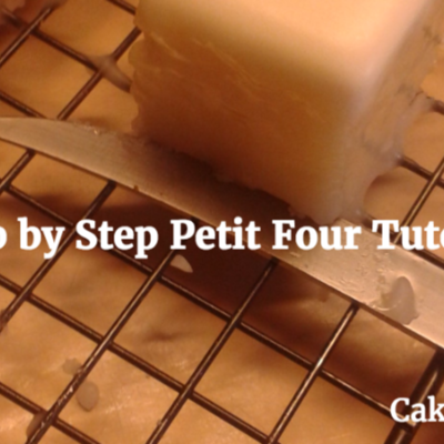 How to do Petit Fours...My Way on Cake Central