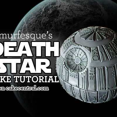 How to Make a Death Star Cake on Cake Central