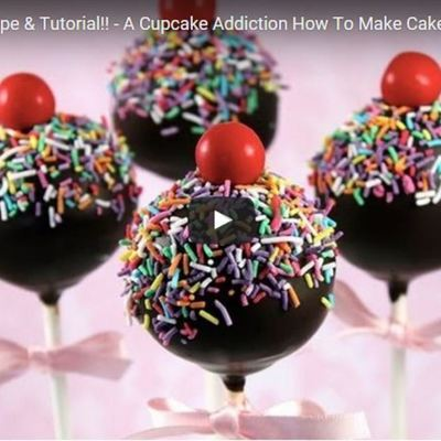 How To Make Cake Pops Tutorial on Cake Central