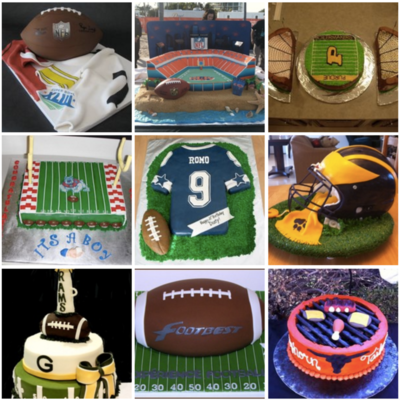 Top Football Cakes on Cake Central