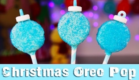 Frozen Oreo Pops