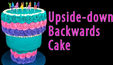 Upside-down Cake Tutorial