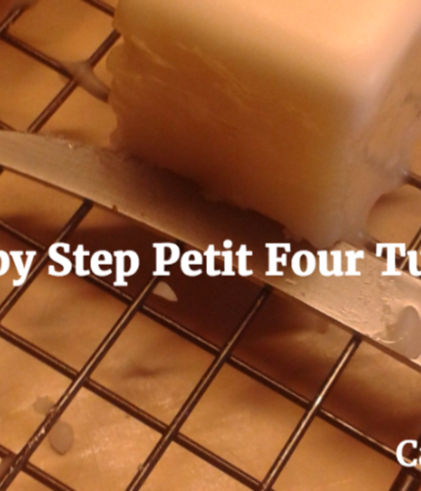How to do Petit Fours...My Way