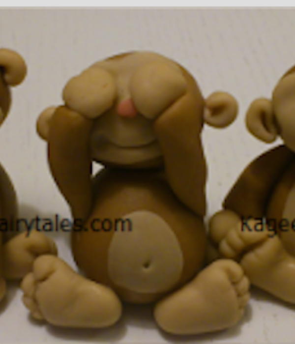 Fondant Monkey Figure Tutorial