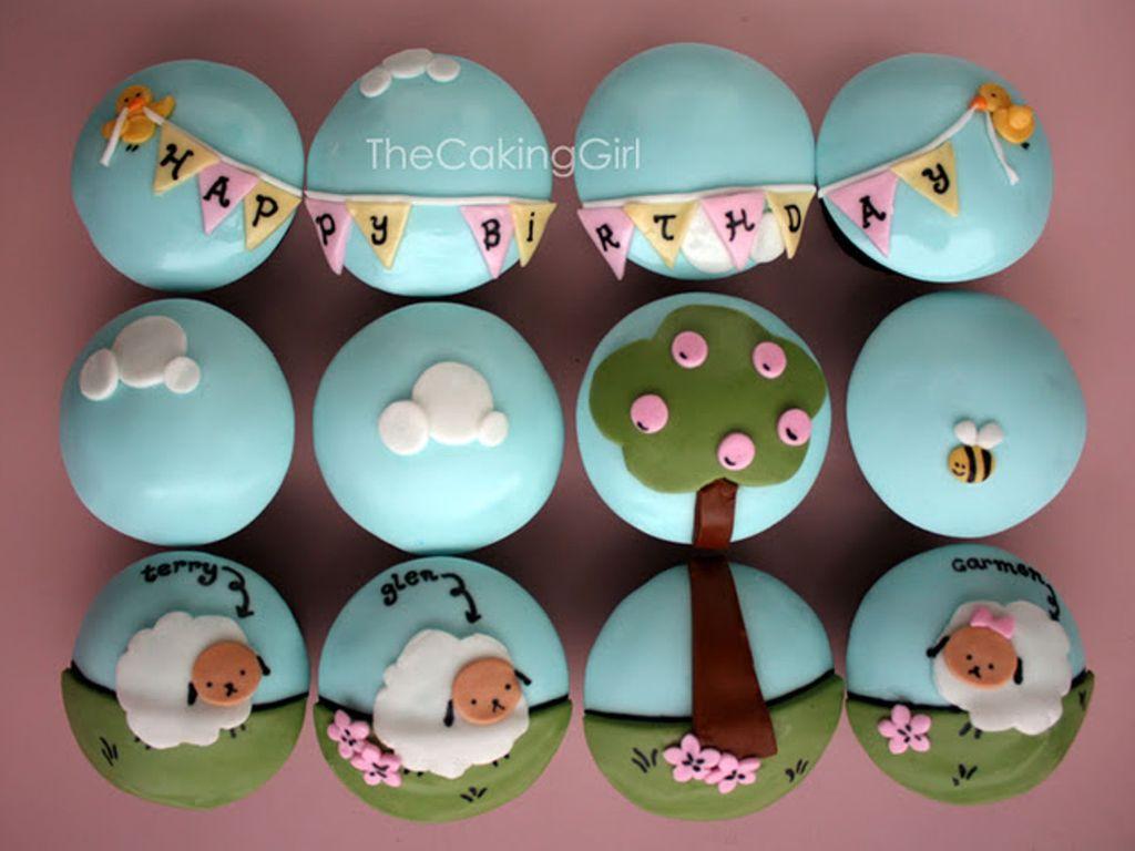 Cute Sheep Cupcakes Tutorial Cakecentral Com