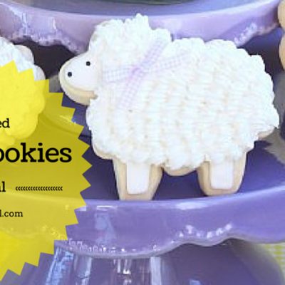Decorated Lamb Cookies on Cake Central