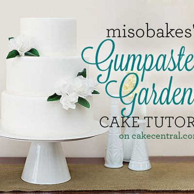Gumpaste Gardenia Tutorial on Cake Central
