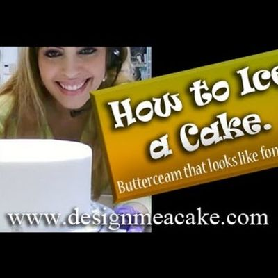 How to Ice a Cake by Edna De la Cruz on Cake Central