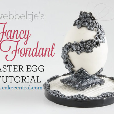 How To Make a Chic Easter Egg on Cake Central