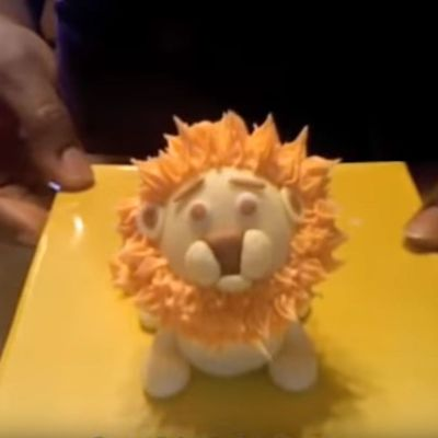 How to Make a Fondant Lion on Cake Central