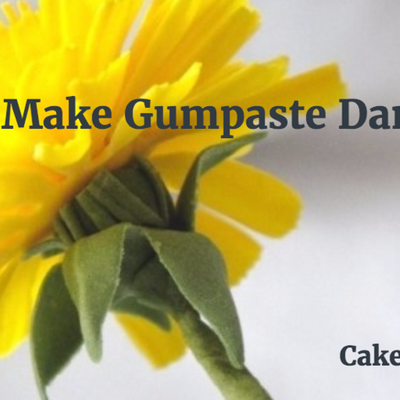 How to Make Gumpaste Dandelion Flowers on Cake Central
