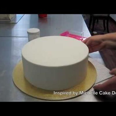 How to Use Ganache Under Fondant on Cake Central