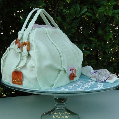 Kooba Valerie Handbag Cake Tutorial on Cake Central