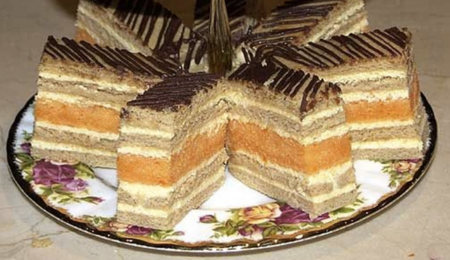 Layered Honey Cake
