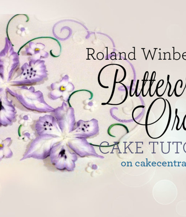 Buttercream Orchid Tutorial by Roland Winbeckler