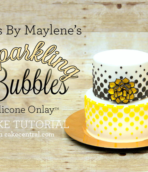Maylene's Sparkling Bubbles Silicone Onlay™...
