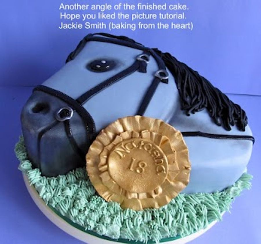 How To Make A D Horse Head Cake
