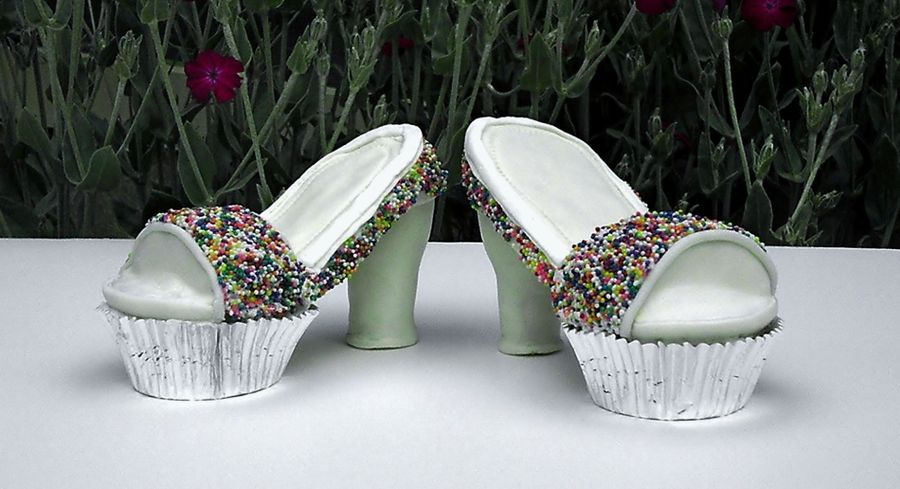 How To Make Cupcake Shoes Cakecentral Com