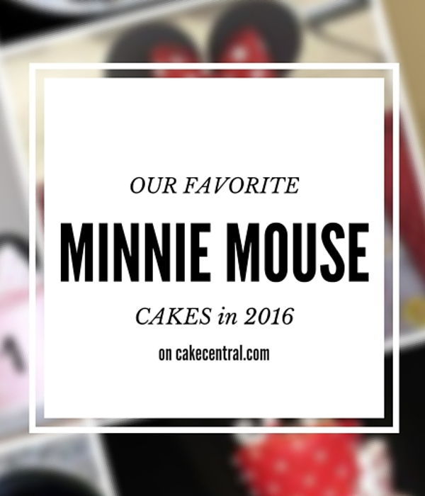 15 Best Minnie Mouse Cakes in 2016