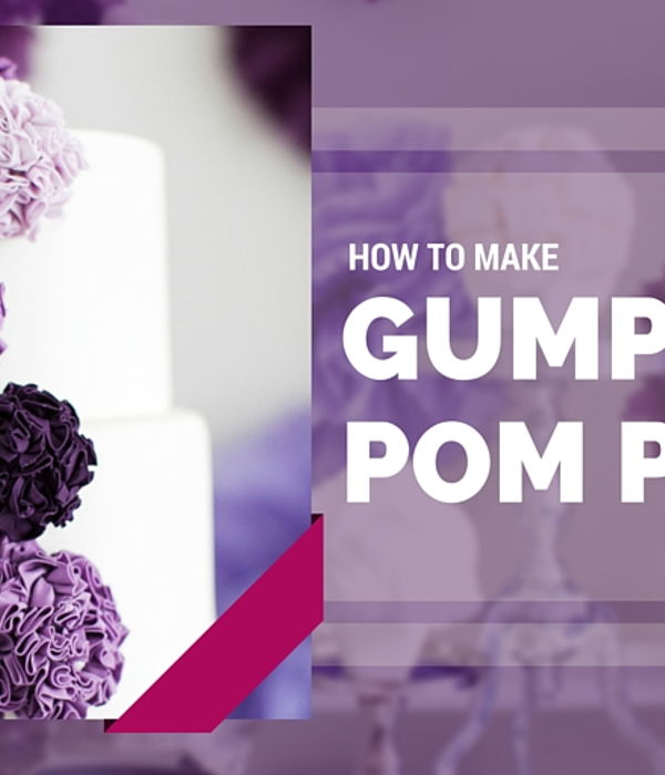 How to Make Sugar Pom Poms