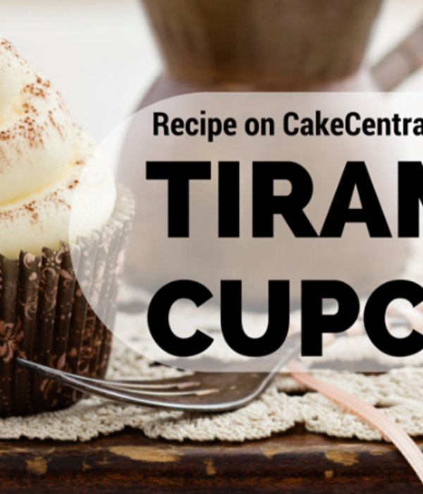 Tiramisu Cupcakes with Marscapone Buttercream