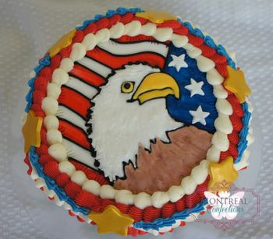 Patriotic Decorated Cakes
