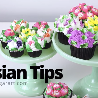 How To Use Russian Piping Tips on Cake Central