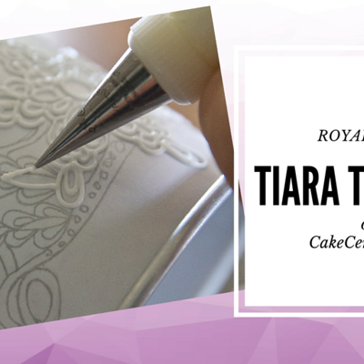 Royal Icing Tiara Tutorial on Cake Central