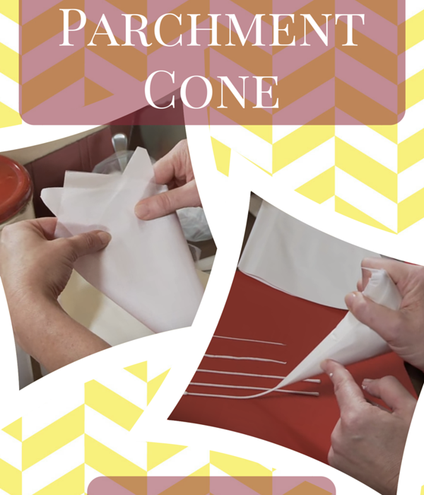 How to Make Parchment Cones