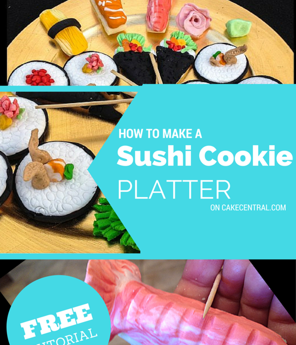 Sushi Cookie Platter