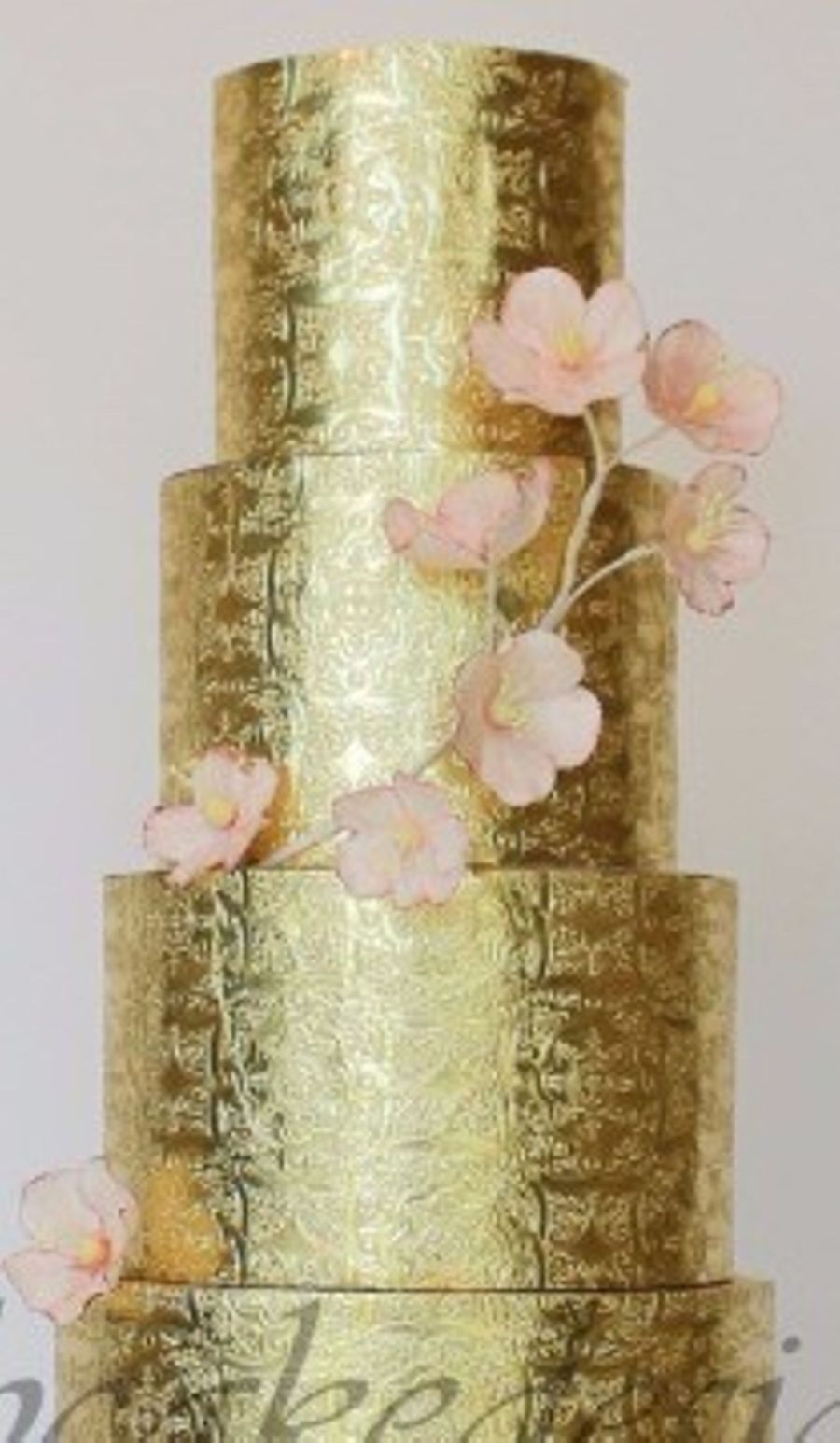 Beautiful Embossed Wedding Cakes Cakecentral Com