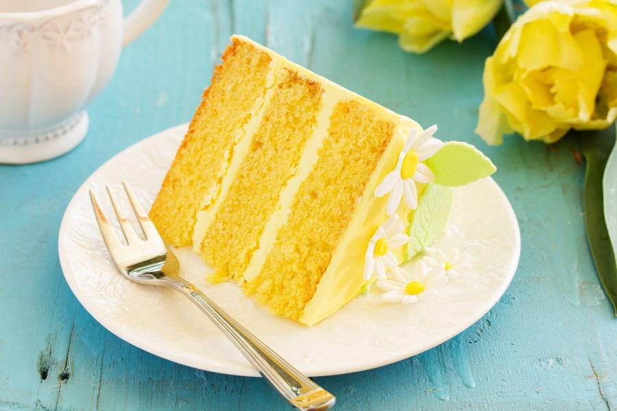 Lemon Chiffon Cake Cakecentral Com
