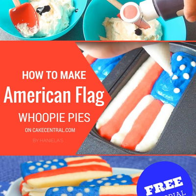 4th Of July American Flag Whoopie Pie on Cake Central