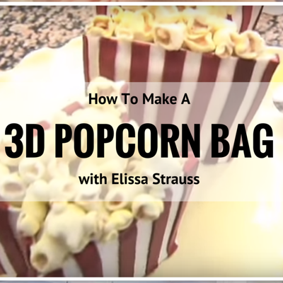How to Make a Popcorn Bag Cake Video on Cake Central