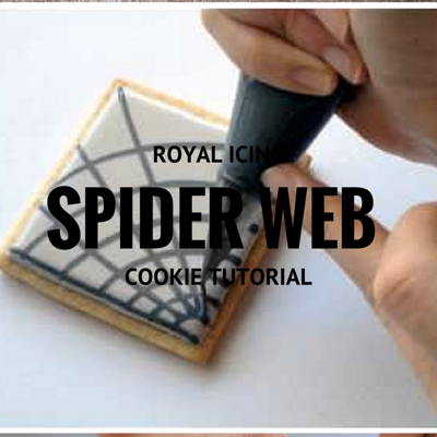 How To Make A Royal Icing Spiderweb on Cake Central