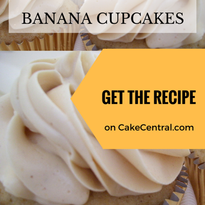 Winning Banana Cupcakes on Cake Central