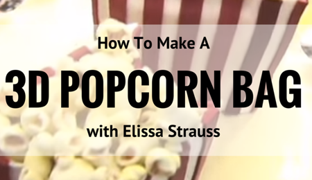 How to Make a Popcorn Bag Cake Video
